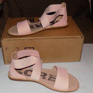 Sorel Ella Tonic melon leather / elastic US 10.5